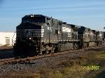 NS 9120 leads NS train 219
