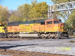 BNSF 8210 leads BN transfer at 32nd street