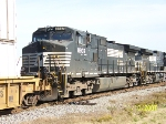 Close up of NS 8937 on train 202