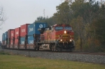 The Clevel and/or Detroit stack train