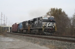 NS 7664 highballing to the Marion Branch