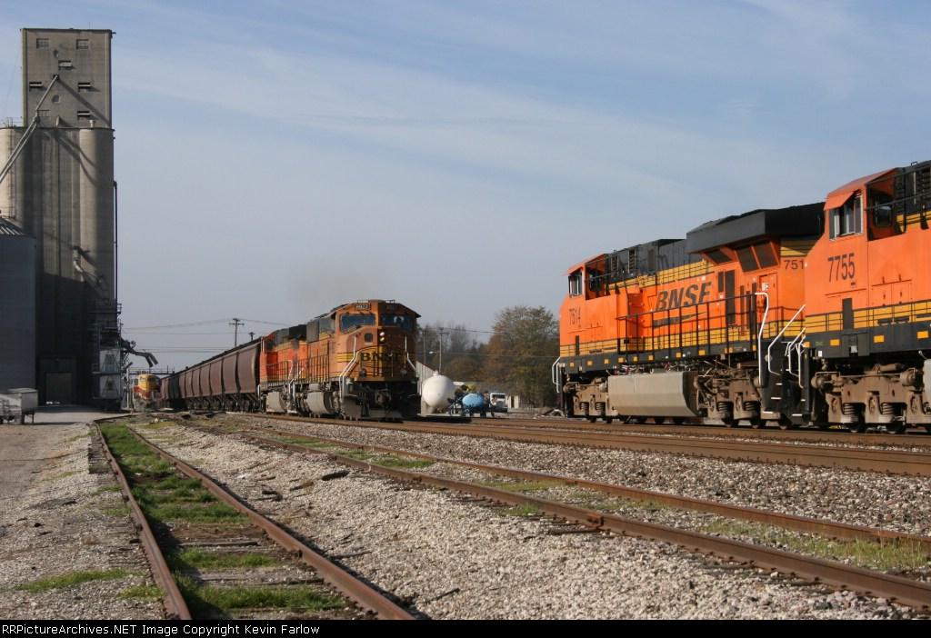 BNSF Transcon meet