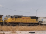 UP 4118 #4 power in a WB manifest at 11:31am