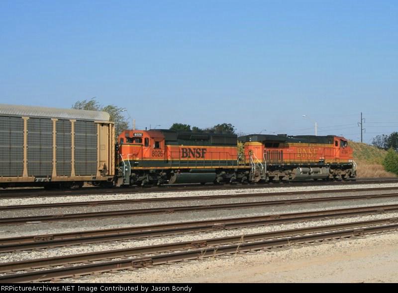 BNSF 4194/8026