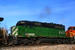 Here's a closeup of BNSF SD40-2 8063