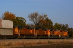 Here's a parting shot of Union Pacific ES44AC 7644, SD70ACe 8596, and SD70Ms 4454 and 4633.