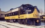 ALASKA Railroad 1508 F7A