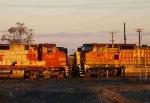 BNSF 764 & 907
