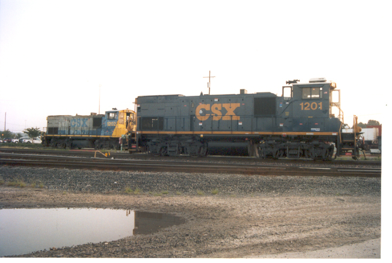 CSX 1201 and 1202