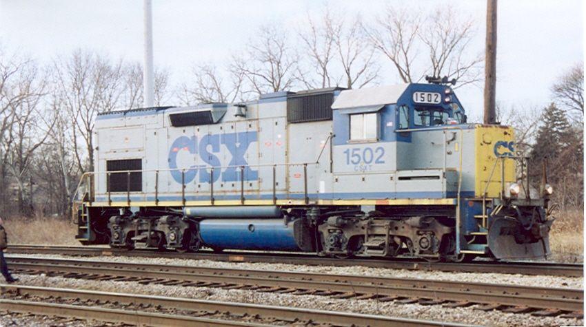 CSX 1502 (ex-C&O 1502)
