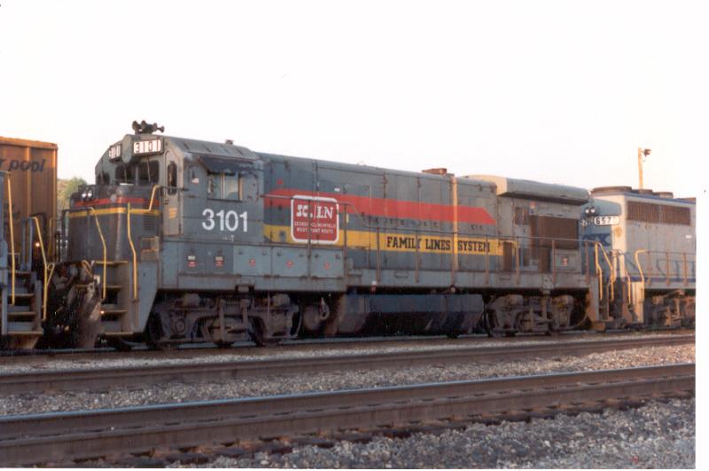 CSX 3101  (ex-SCL 5101)
