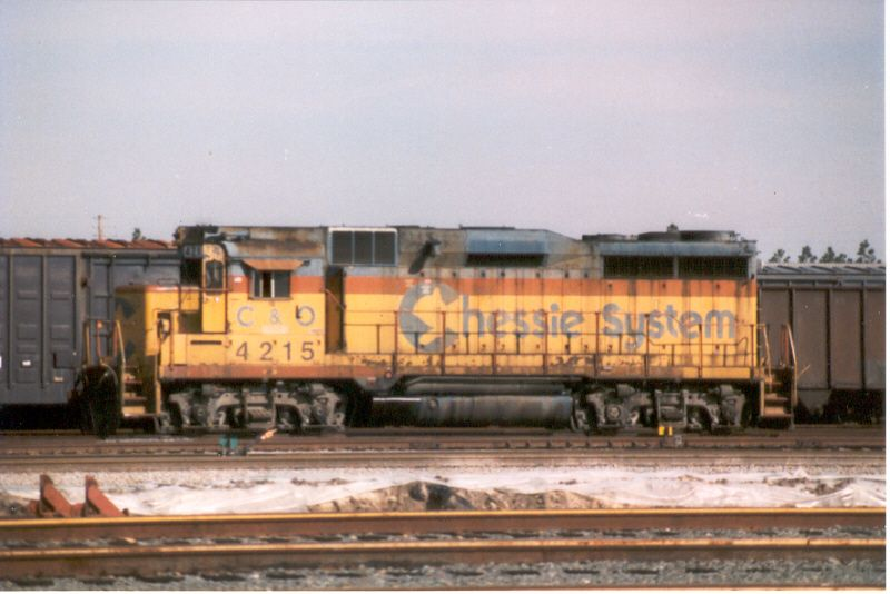 CSX 4215  (ex-C&O 3020, later OGEE 4215)