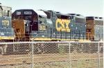 CSX 2632 YN3 (ex-L&N) Stored