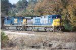 CSX locos Two paint schemes
