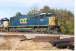 CSX freight headed by former EMDX SD70M