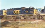 CSX YN3 6391 (ex-A&WP) Stored
