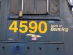 Cab close up of 4590