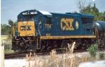 CSX (MVCX) 7764 (Fireman's side)