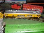 Sperry Rail Service Car Model