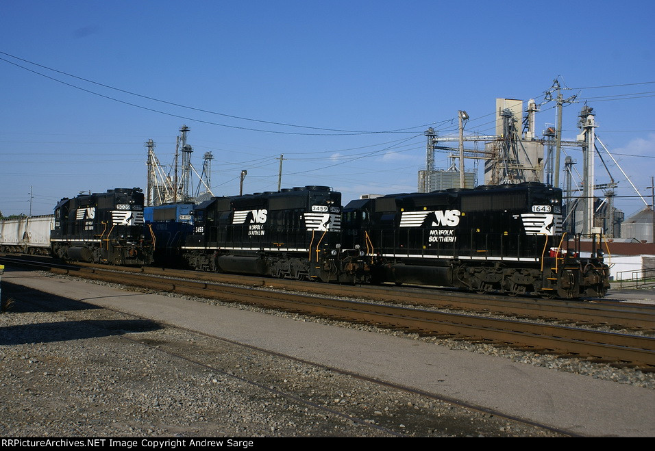 All EMD Lineup in front of the Depot in Gainesville