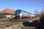 Amtrak 19 at Cornelia