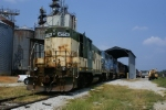 CNW 4556 resting at Lavonia Georgia