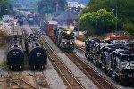NS154 passes 58W at the Depot