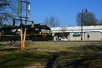 NS 211 passes Trainmaster Models at CP Walters