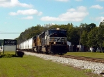 NS and UP Locos lead on CSX Abbeville sub