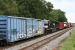 NS 7599 rare DPU on NB freight