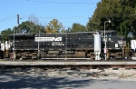 NS 9218 by the fuel rack
