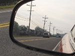 NS 9358 as seen from my rear view mirror