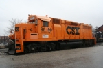 BOMX 9699 before being repainted into Chessie colors.