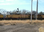UP 7131 Is #2 On Stopped WB Coal Empties