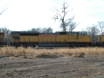 UP 8299 Is #3 On Stopped WB Coal Empties