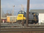 CSX GP38-2 and SW1500