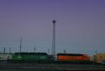 BNSF 6831 & 8091