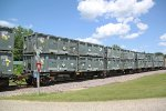 GIMX 516253 carrying Energy Solutions radioactive waste containers!