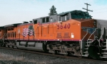 UP 5640 in Milwaukee Road Colors