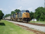 THIS YN3 CSX SD70 LEADS A COLE TRAIN IN LATTA