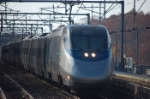 An Acela flying by Attleboro