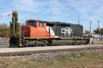 CN 5351 trundles into the yard