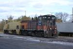 Y202 power rolls into the yard