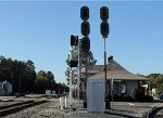 The old Seaboard signal and replacement