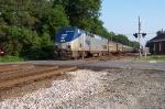 Amtrak begins our afternoon