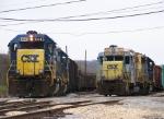 CSX 6445 & CSX 2242