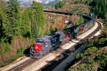 Espee on Donner with westbound coal