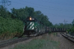 BN westbound freight
