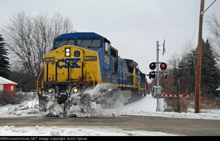 CSX Q621-22 on CSX St. Lawrence Subdivision