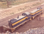 Oliver Iron Mining EMD switchers